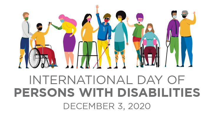 International Day of People with Disabilities - December 3