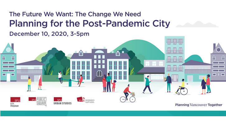 Planning for the post-pandemic city  - Dec 10, 3-5pm