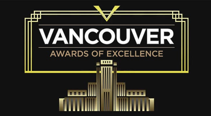 Vancouver Awards of Excellence  - image of City Hall