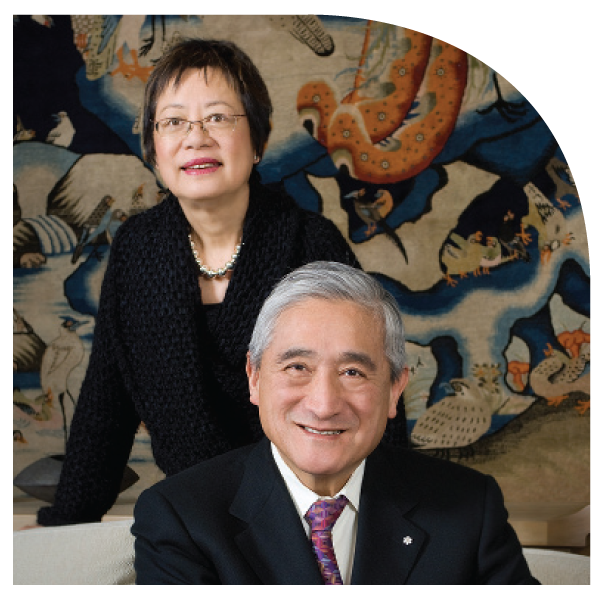 2011 Philanthropy Honourees Fei and Milton Wong