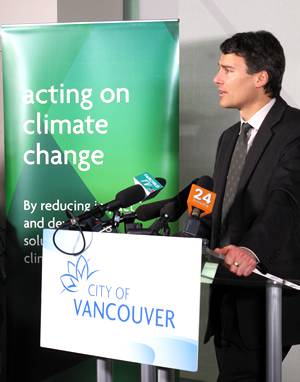 Mayor Gregor Robertson at GCAT Conference