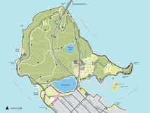 Map of Stanley Park Trails