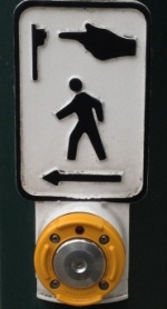 Accessible crosswalk audible signal