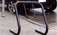 A bike rack permit allows you to have a bike rack installed in front of your business.