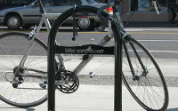 U-shaped bike rack