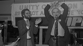 Former Vancouver city councillor Bruce Yorke during the 1985 by-election