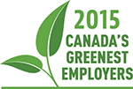 Learn why we were chosen as one of Canada's Greenest Employers for 2014