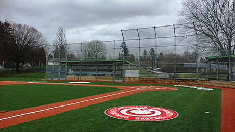 Challenger Baseball Diamond at Hilcrest Park in Vancouver
