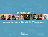 Cover of Growing Roots - A Newcomer's Guide to Vancouver