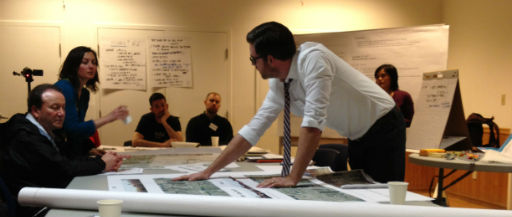 A photo of the follow-up design session