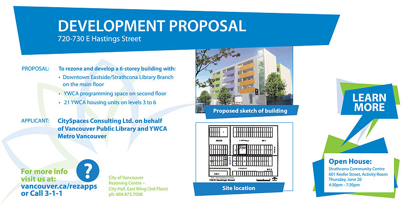 New Development Signage City Of Vancouver