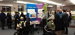 Pearson Dogwood participants at our February 2013 open house about goals and objectives for the policy statement