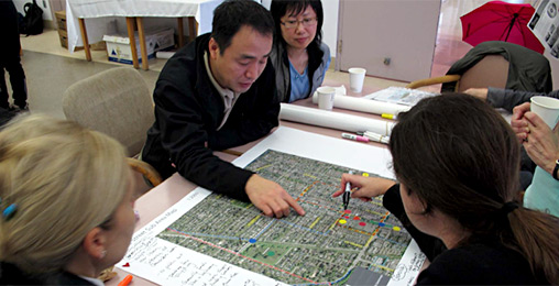During Phase 3 of the Cambie Corridor Planning Project, one way we'll engage with you is in small group focus, to encourage constructive dialogue on issues.
