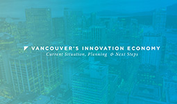 Presentation about Vancouver's innovation economy