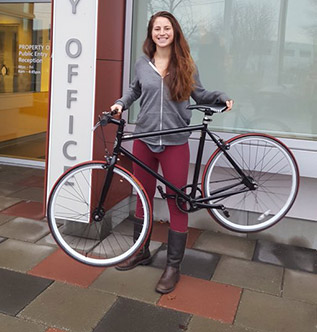 Woman gets her stolen bike returned thanks to the 529 Garage app and Vancouver Police
