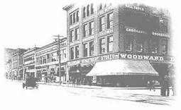 Woodward's in the Downtown East Side, from the City Archives