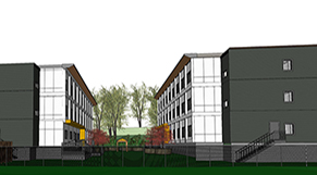 1580 Vernon Dr rendering