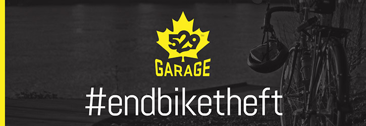 The 529 Garage app and decal help defend your bike from theft