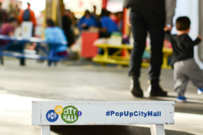 Pop-Up City Hall in the Community