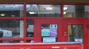 Evelyne Saller Centre entrance