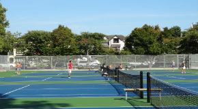 Kitsilano Beach tennis courts