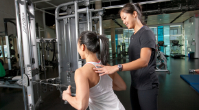 Personal training at Creekside Community Centre in Vancouver