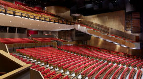 Queen Elizabeth Theatre seating