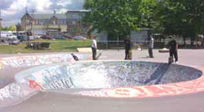 China Creek skateboard park