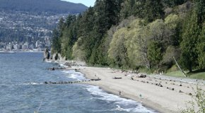 Third Beach at Ferguson Point in Stanley Park in Vancouver