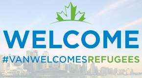 Supporting refugee settlement in Vancouver #VanWelcomesRefugees