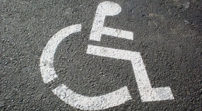 Accessible parking symbol