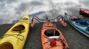 Adapted kayaking is just one of the adapted sport activities available through adapted sports programs