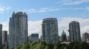 Apartments in downtown Vancouver