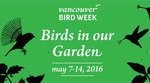 Vancouver Bird Week - May 7-14, 2016