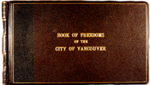 Book of Freedoms of the City of Vancouver