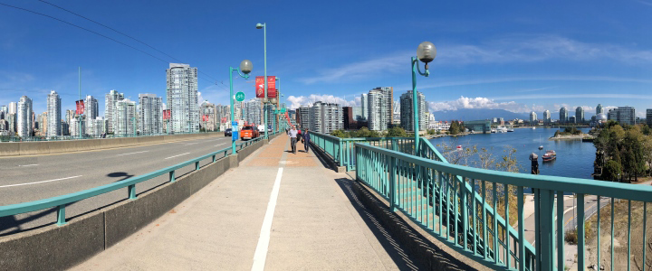 Cambie Bridge protected view