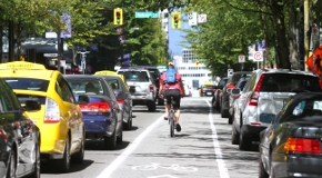 Data on traffic, including from signal reports, helps the City manage traffic in Vancouver.