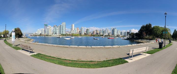 Charleson Seawall protected view