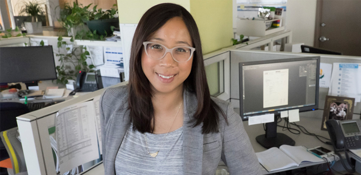 City of Vancouver employee Jhenifer Pabillano
