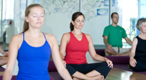 Community centers offer programs like yoga classes