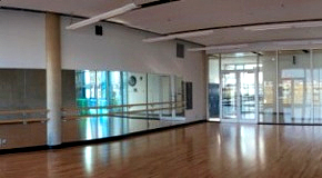 Dance studio at Creekside Community Centre
