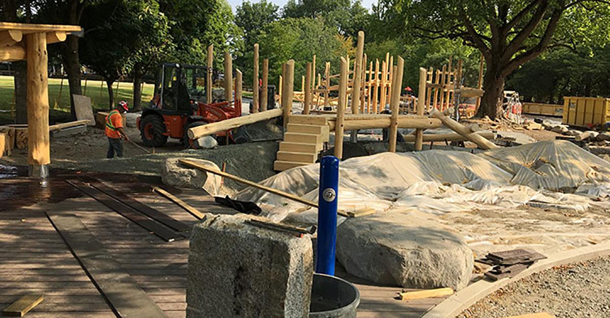 Playground Design Home