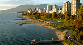 Downtown Vancouver beach