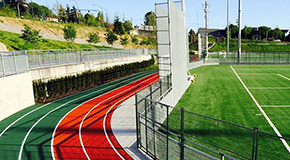 Empire Field track