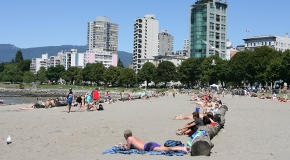 English Bay Beach City Of Vancouver