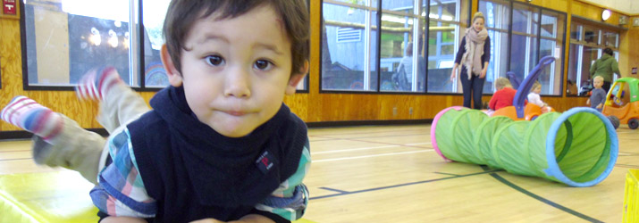 False Creek Community Centre - child and Parent and Tot class