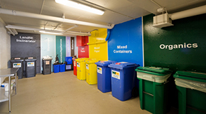 The way garbage and recycling facilities in buildings are designed plays an important part in making Vancouver a sustainable city.