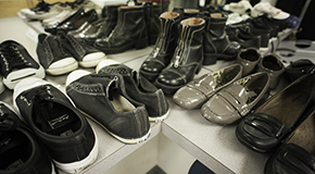 Homeless Connect participants can access free shoes, clothing, and services