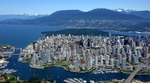 Downtown Vancouver and the North Shore