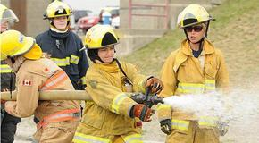 Camp Ignite - firefighting training for Metro Vancouver teen girls